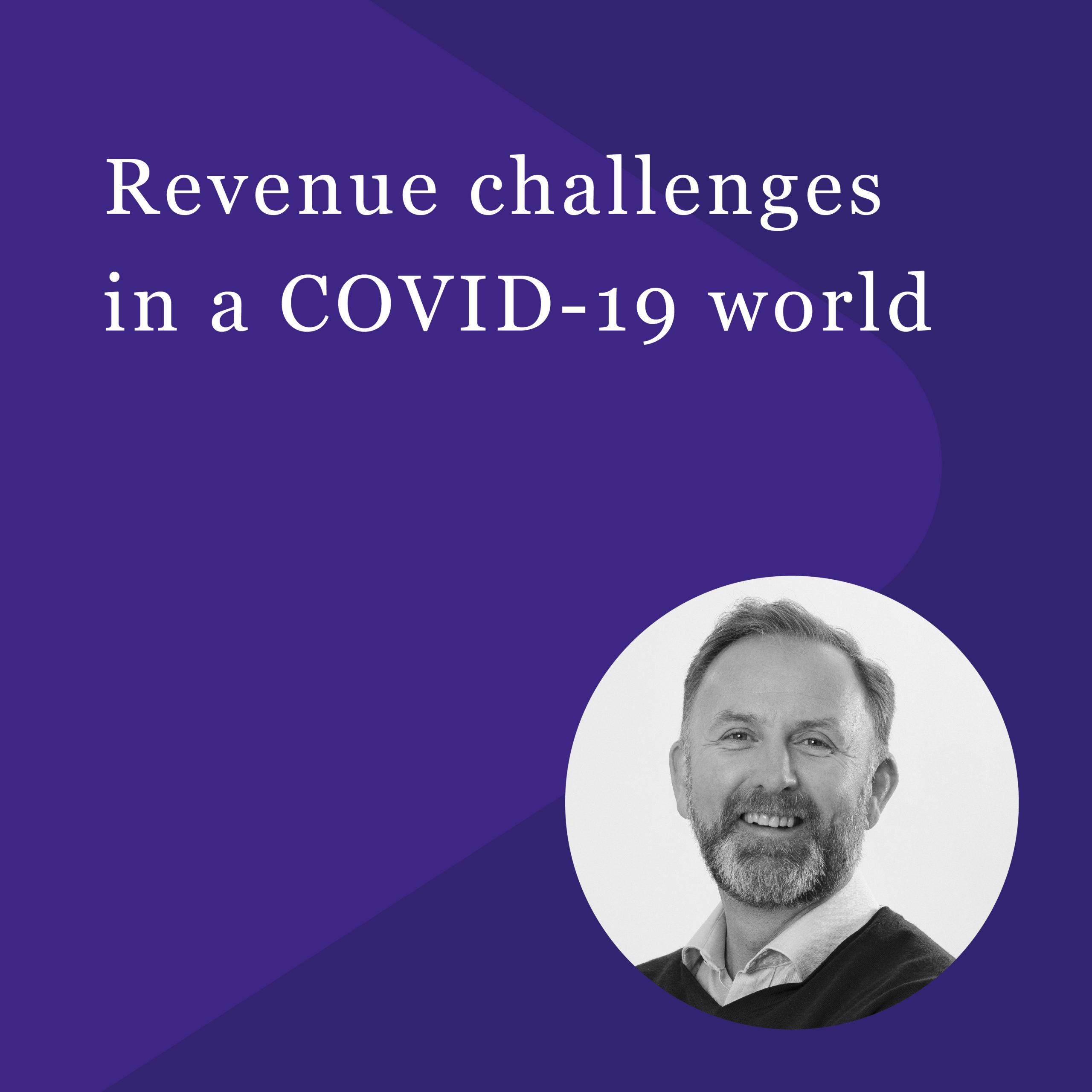 Andrew McGregor - Revenue Challenges - PACE Dimensions